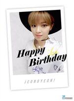 Birthday Jeongyeon 2015