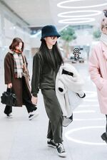 Incheon International Airport Arrival 181103 Chaeyoung 5