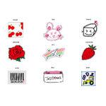JAPAN SEASON'S GREETINGS 2019 TWICE AIRLINES Sticker Set B Type