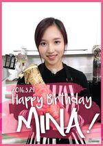 Birthday Mina 2016