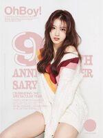 OhBoy! 9th Anniversary Sana