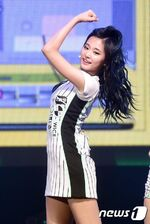 Tzuyu at TWICE showcase 3