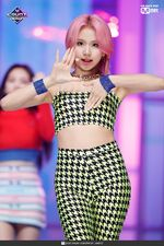 Chaeyoung Fancy MCountdown 1