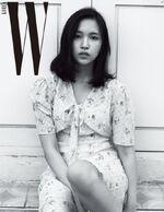Mina Korea W 2017 photoshoot