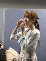 SBS song Daejeon pre-recording behind Mina