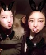 Nayeon and Jihyo insta