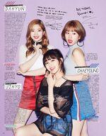 Seventeen Dahyun, Jihyo, & Chaeyoung