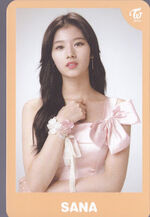 TWICEland Encore Concert Photocard Sana 6