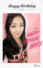 Birthday Jihyo 2016