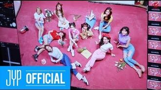 """TWICE """"What is Love?"""" JACKET BEHIND A"""