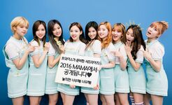 TWICE preparing Surprise Stage for 2016 MAMA 2