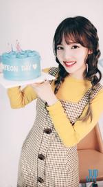 Nayeon on her birthday Twitter Sep 22, 2017 (2)