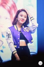 Chaeyoung Cheer Up showcase 3