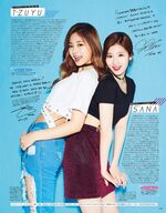 Seventeen Tzuyu & Sana