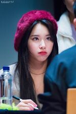 Yes Or Yes Sangnam Fansign Chaeyoung 11