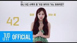 "TWICE ""MORE & MORE"" 60 Seconds Speed Interview TZUYU"