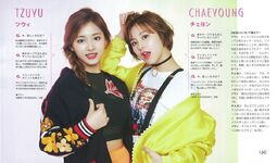 Non-No Tzuyu & Chaeyoung