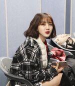 SBS song Daejeon pre-recording behind Jihyo 2