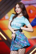 M COUNTDOWN 161105 Nayeon