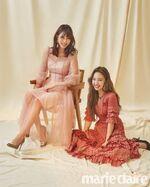 Marie claire August 2018 Mina & Nayeon
