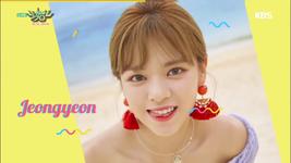 Music Bank 180713 Jeongyeon