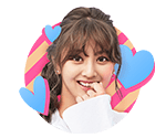 TWICEcoaster Lane 1 VLive Sticker Jihyo