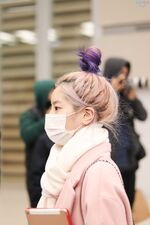 Incheon International Airport Arrival 181103 Dahyun 12