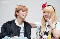 JeongMo at fan meet