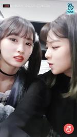 VLive 181125 JeongMo 8