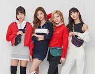 Beanpole Sport Mina, Sana, Dahyun, & Momo
