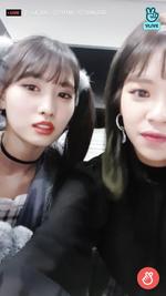 VLive 181125 JeongMo 9