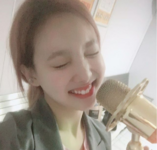 Nayeon with a mic IG Update 3