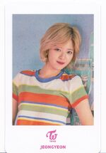 TT Japan Photocard Jeongyeon