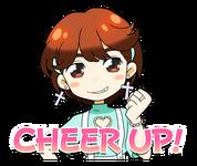 Candy Pop Line Stickers Jeongyeon