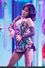 Jihyo Fancy MCountdown 3