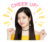 Twice Line Stickers Dahyun 3