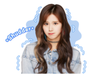 Twice Line Stickers Sana 4