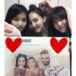 Tzuyu, Nayeon, & Momo IG Update 181114 3