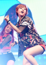 Jeongyeon Like Ooh Ahh showcase 5