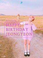 Birthday Jeongyeon 2016