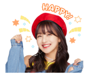 Twice Line Stickers Jihyo