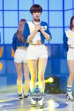 M COUNTDOWN 160428 Jeongyeon 2