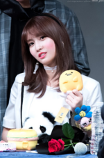 Momo fan meet 170521 2