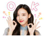 Twice Line Stickers Nayeon 4