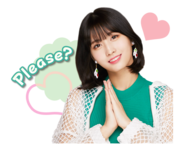 Twice Line Stickers Momo
