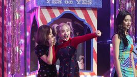 YES or YES Comeback M countdown scene making Jihyo & Dahyun 2