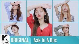Ask In A Box Special(에스크 인 어 박스 스페셜) TWICE(트와이스) Dance The Night Away(제자리 댄스 Ver.)