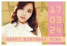 Birthday Mina 2017