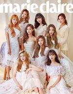 Marie claire August 2018 Twice