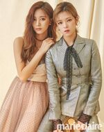 Marie claire August 2018 Tzuyu & Jeongyeon
